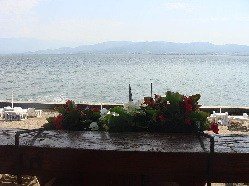 Widok na jezioro Dojrańskie